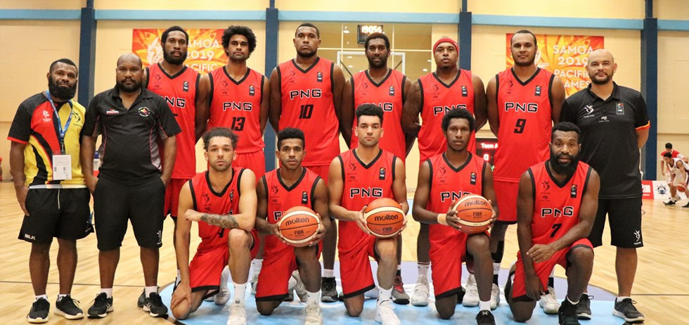 Papua New Guinea's men came fourth at the 2019 Pacific Games ©FIBA