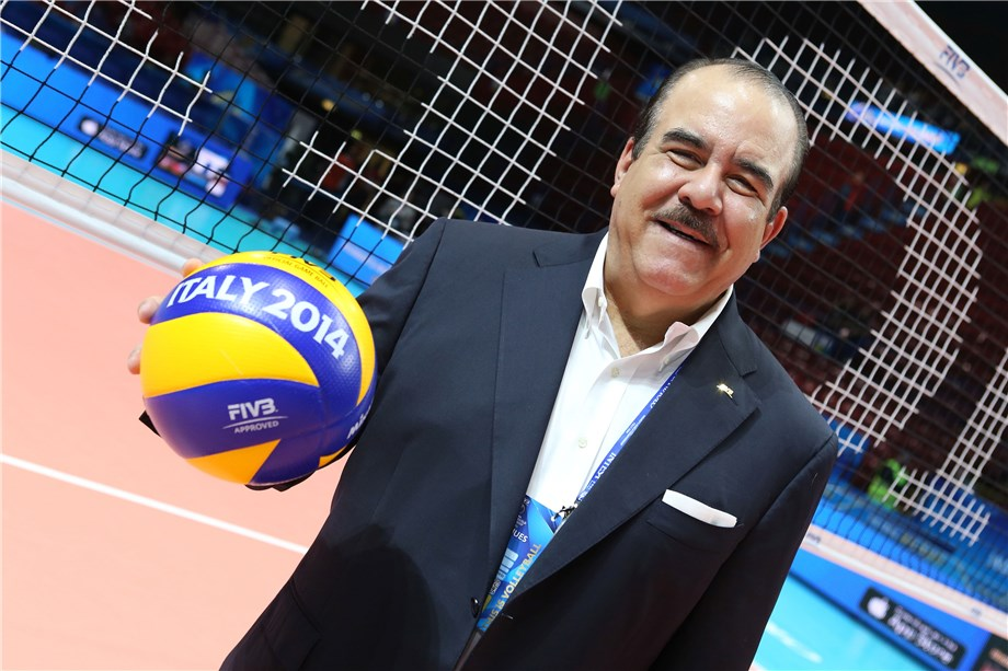 Marte Hoffiz re-elected NORCECA President during virtual Congress