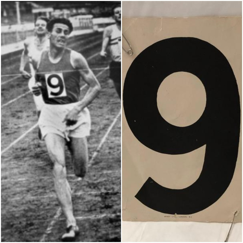 Hungary's László Tábori was the third runner to break four minutes for the mile during an epic race at White City Stadium in London in 1955 ©Getty Images and World Athletics