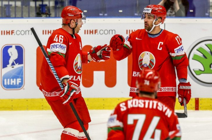 Belarus seal last eight berth with narrow win over Norway at Ice Hockey World Championships