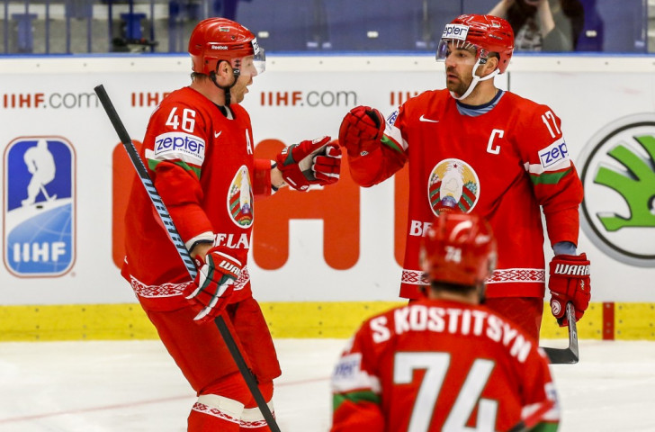 Belarus sealed their place in the last eight with a 3-2 win over Norway ©Getty Images