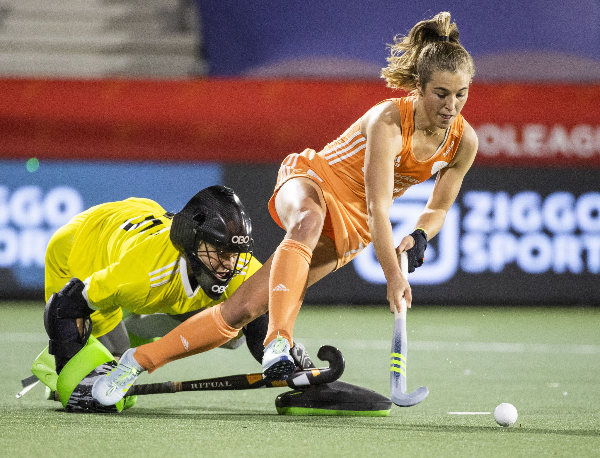 Xan de Waard scored in the shootout for the Dutch women ©Getty Images