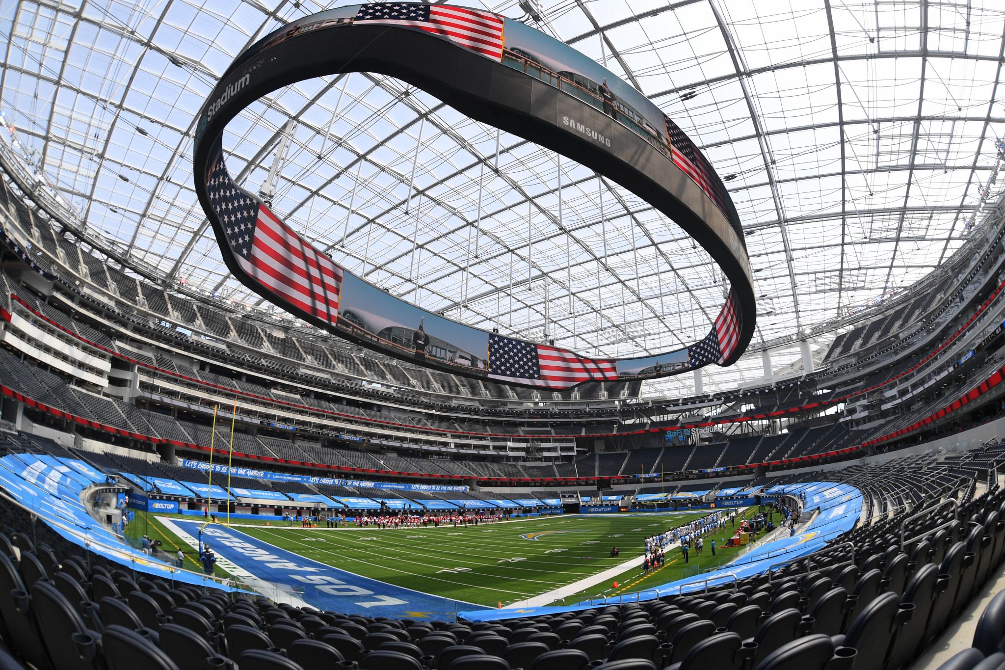 Digital twin of Los Angeles 2028 venue SoFi Stadium to be built to further data analysis