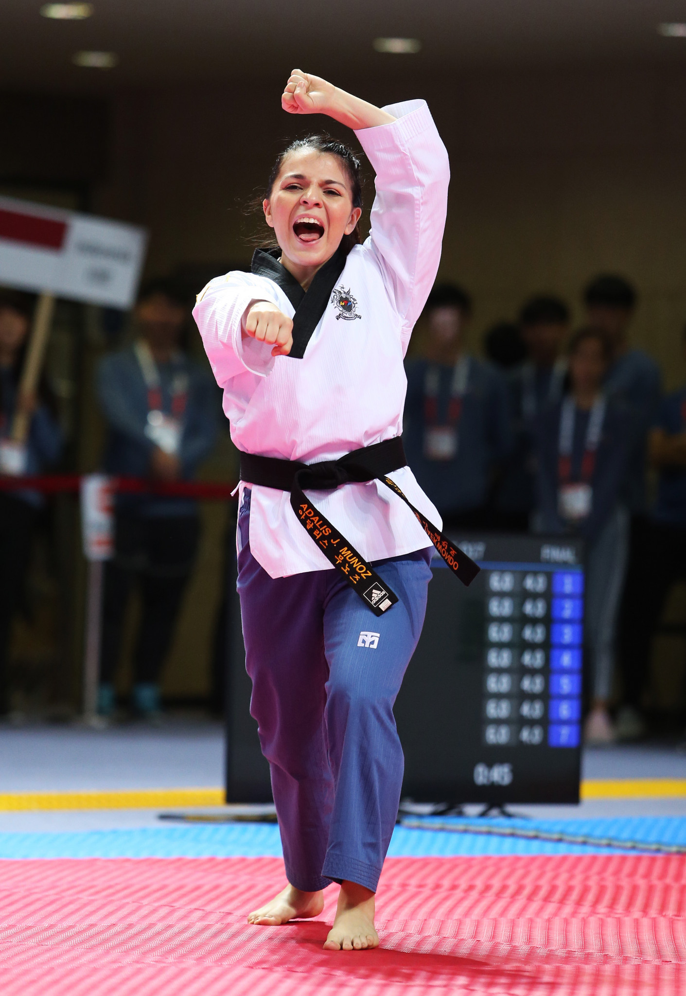 Elite and family categories will be held at the virtual event ©World Taekwondo