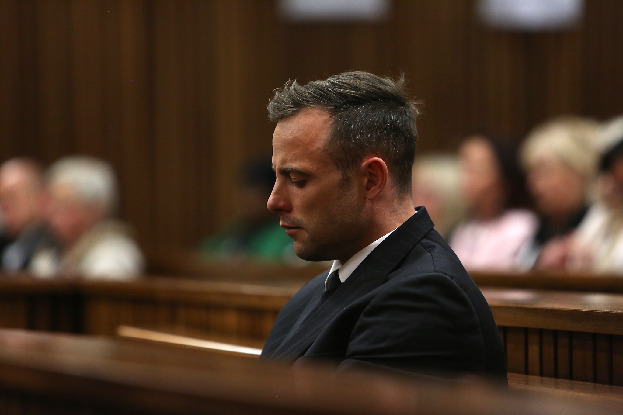 Oscar Pistorius' prison sentence for the murder of Reeva Steenkamp was increased to 13 years and five months in 2017 ©Getty Images