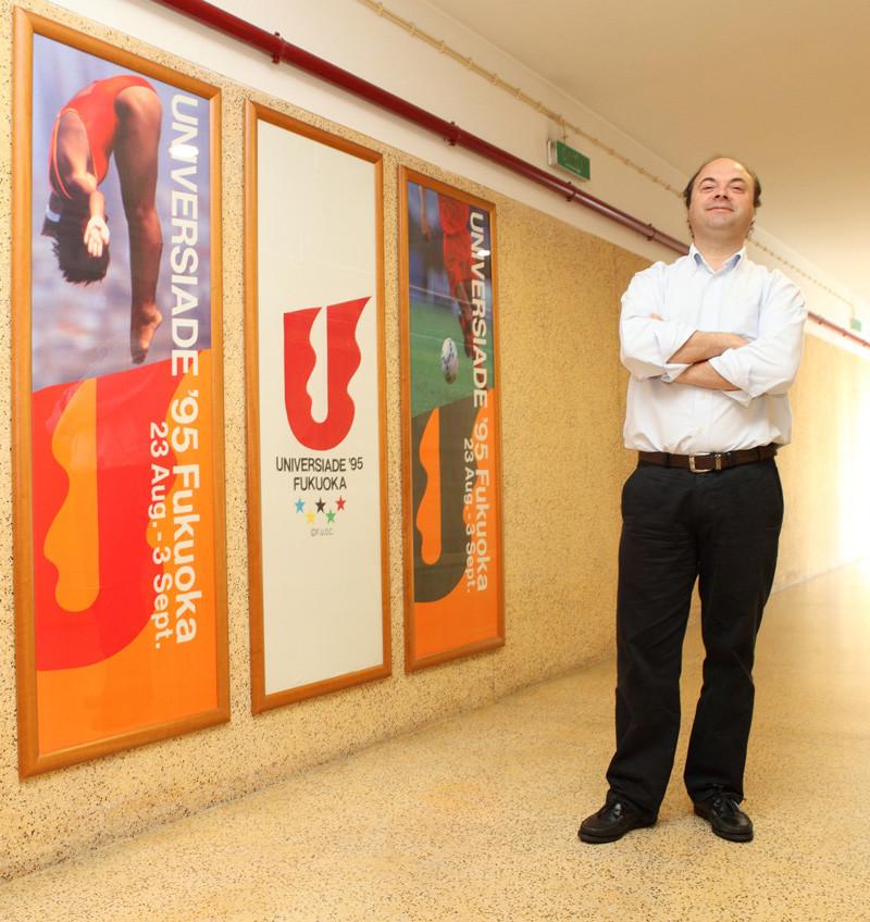 Fernando Parente discussed the International University Sports Federation's Health Campus platform  ©FISU