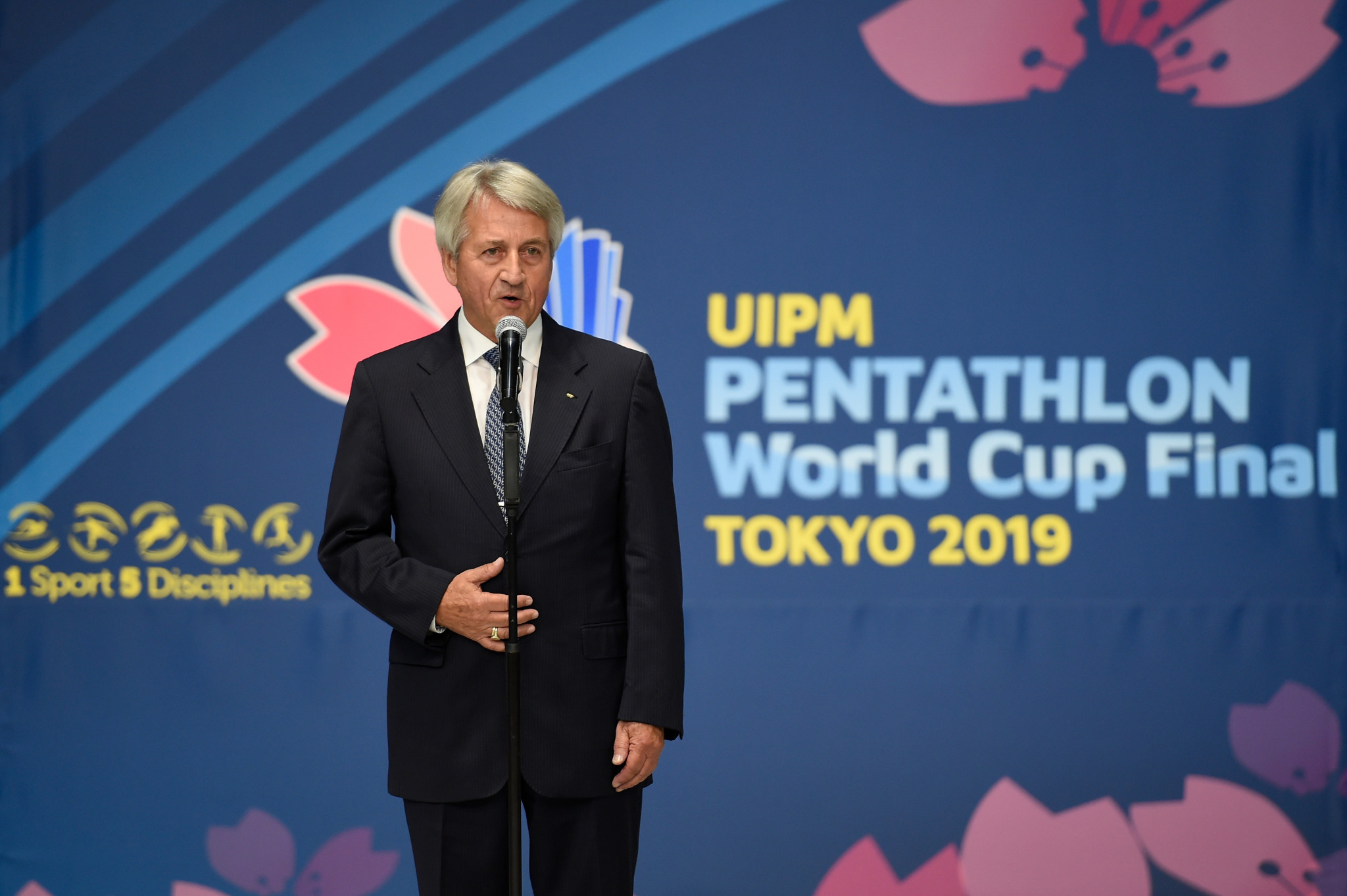 "International Modern Pentathlon Union President Klaus Schormann believes the new format will ""create a more dynamic sport with a continuous flow"" ©Getty Images"