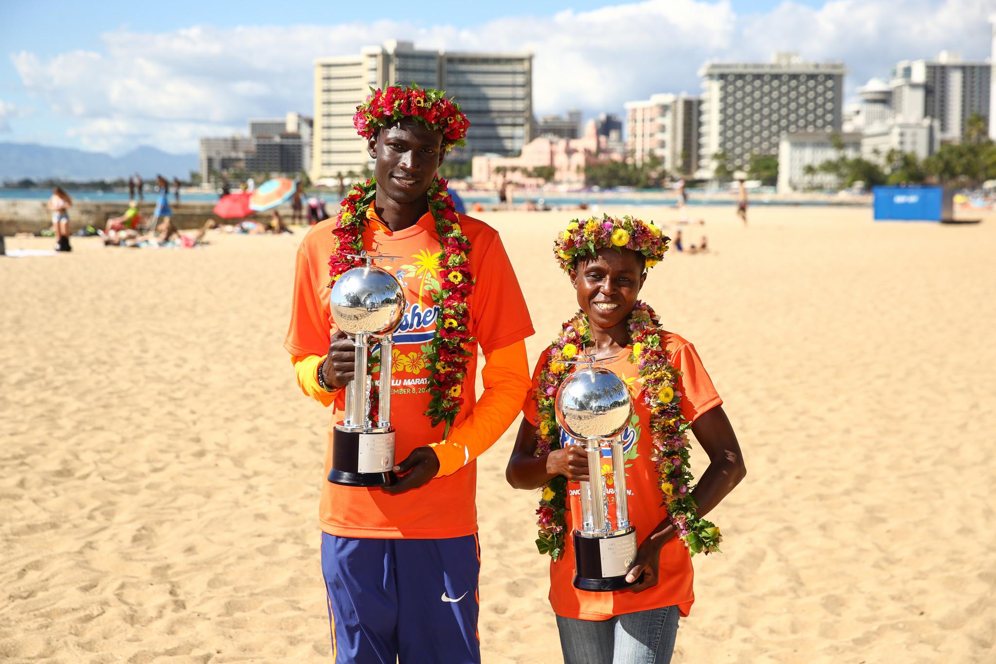 Titus Ekiru and Margaret Muriuki won the men's and women's races last year ©Getty Images