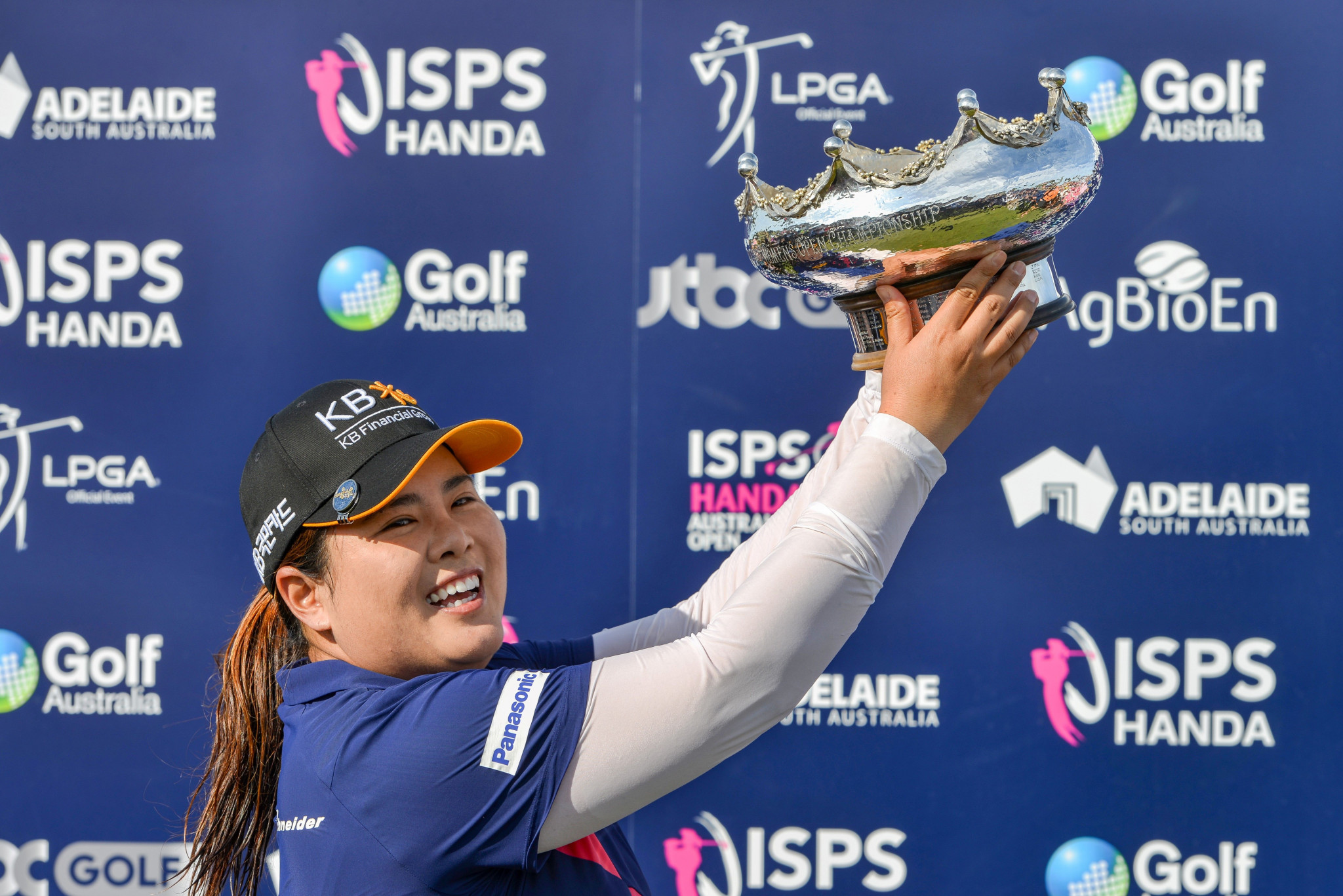 Park Inbee of South Korea - also the Olympic champion - will not be able to defend her Australian Open title in 2021 after the event was cancelled due to COVID-19 concerns ©Getty Images
