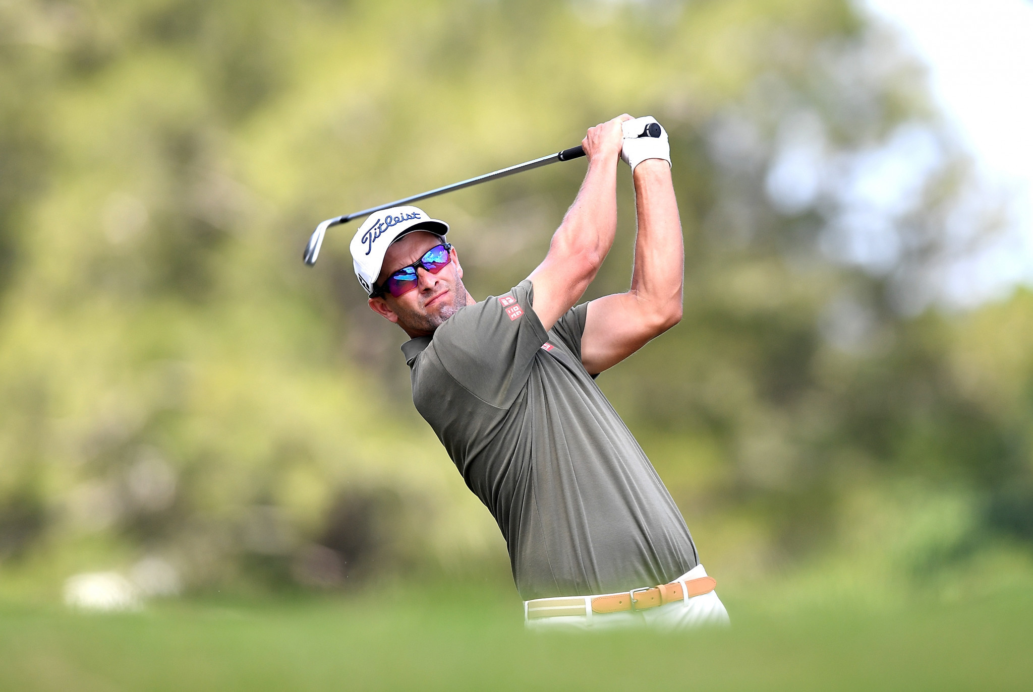 Australian Adam Scot is a two-time winner of the Australian PGA Championship and the holder of the title ©Getty Images