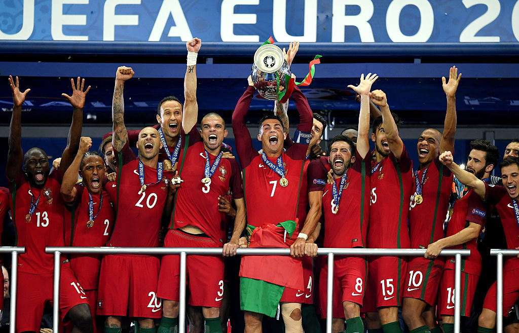 Portugal won a single game of football from seven attempts and were crowned as the champions of Europe at UEFA Euro 2016 ©Getty Images