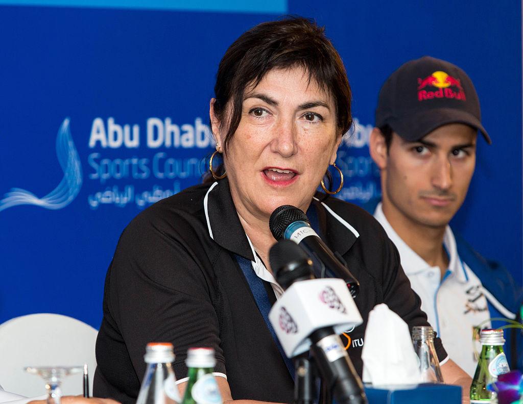 Marisol Casado is seeking a fourth term as World Triathlon President ©Getty Images