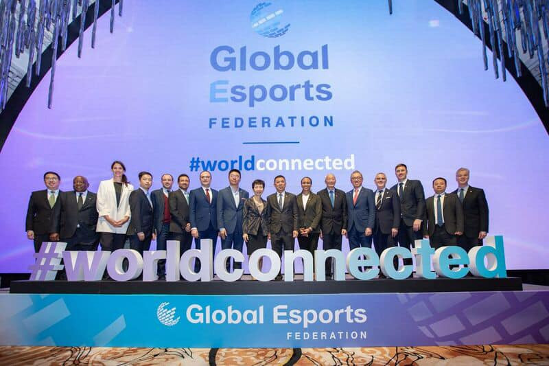 International Federations have been warned by the IOC not to become members of the Global Esports Federation, launched in December 2019 ©GEF