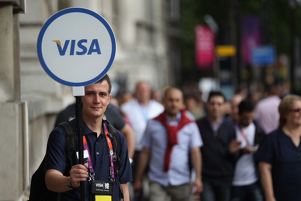 The severe downturn in international travel has taken its toll on Visa when it comes to cross-border transactions ©Getty Images