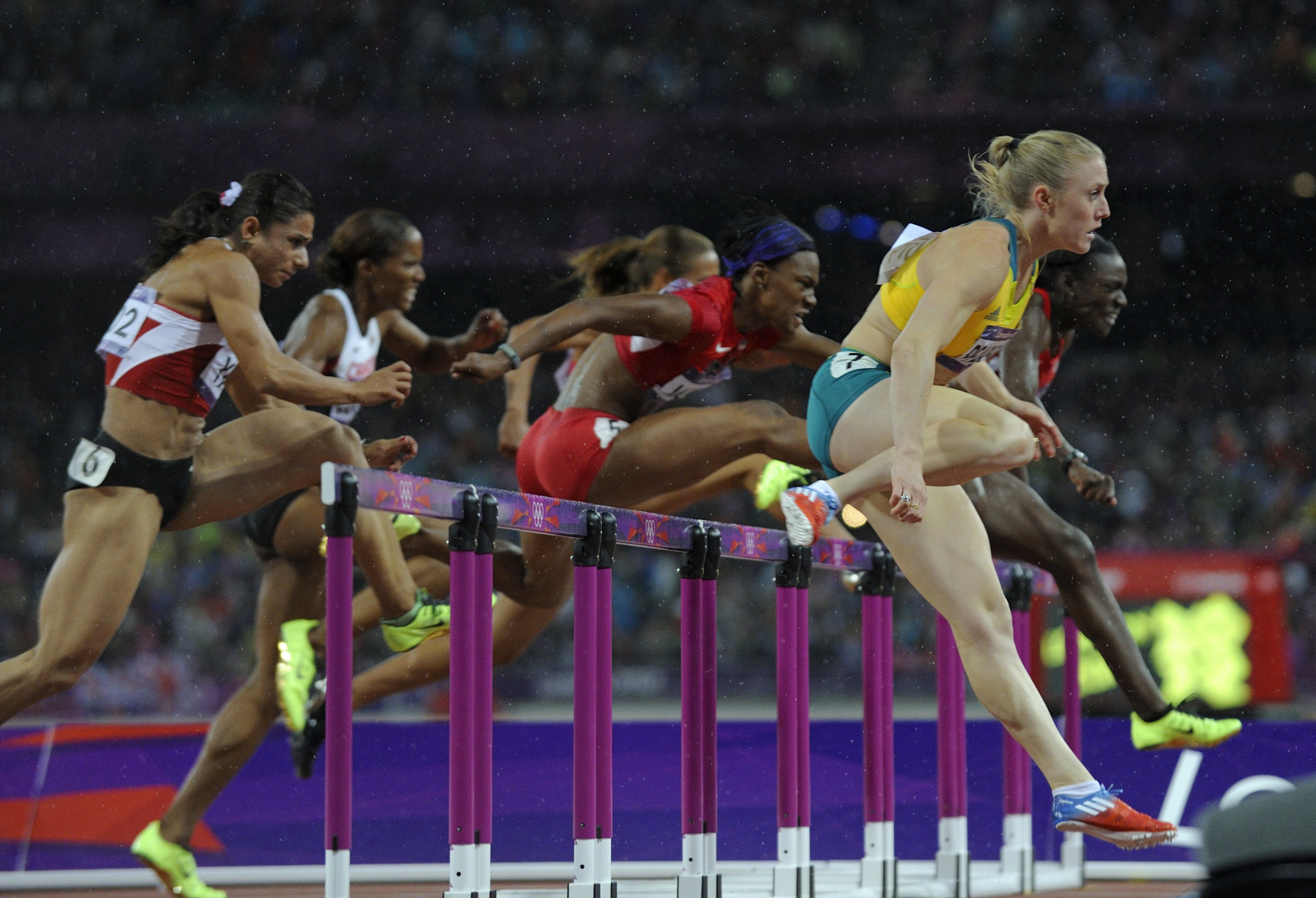 Sally Pearson earned Olympic gold in the 100m hurdles at London 2012 ©Getty Images