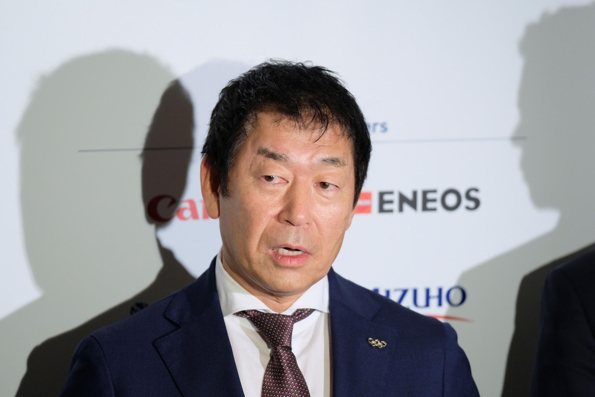 FIG President Morinari Watanabe reported that Uchimura had a