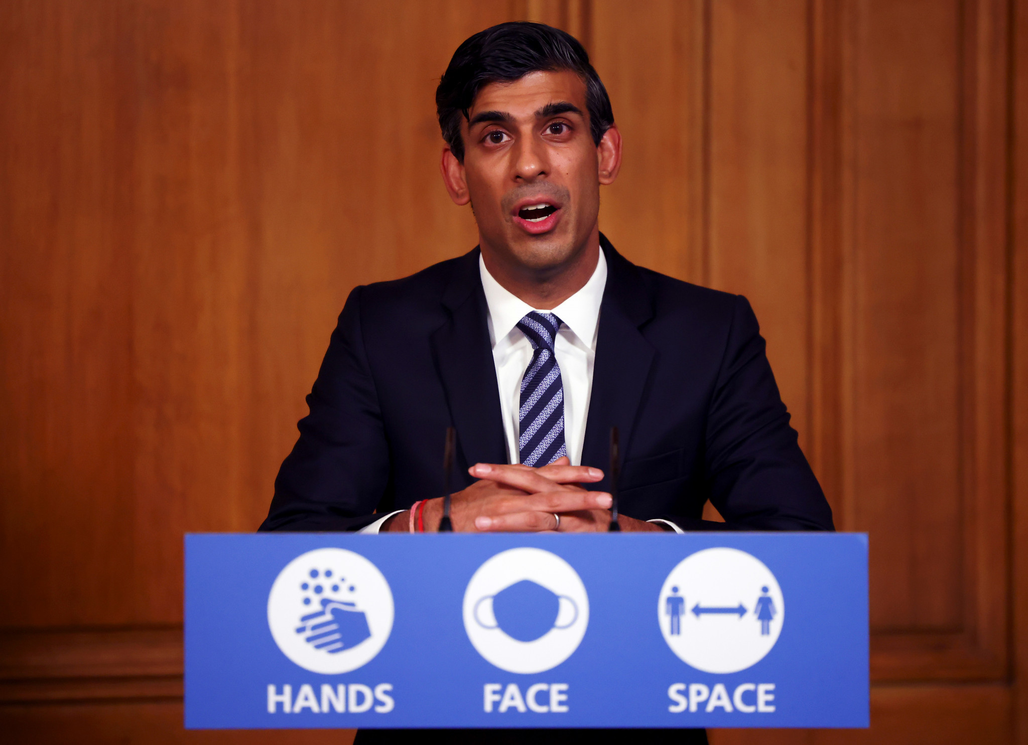 Chancellor Rishi Sunak announced long-term spending plans would be scrapped with a one-year review due next month ©Getty Images