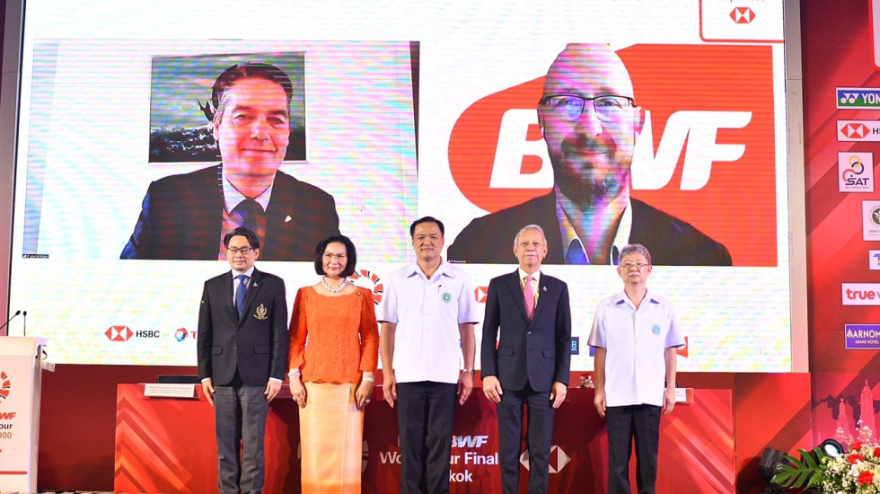 The BWF has signed a hosting agreement with Thailand ©BWF