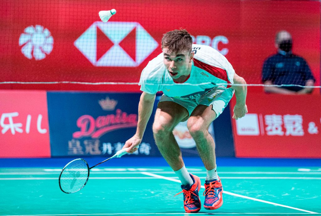 International badminton resumed with the Denmark Open earlier this month ©Getty Images