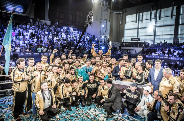 Astana Arlans Kazakhstan are the reigning World Series of Boxing champions