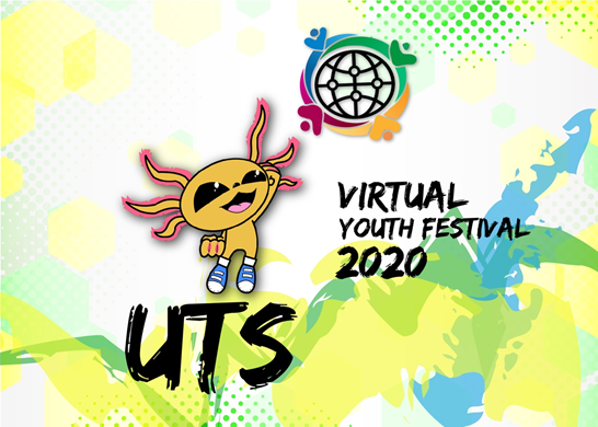 Alexx the Axolotl has been chosen as official mascot for next month's UTS International Virtual Youth Festival ©UTS