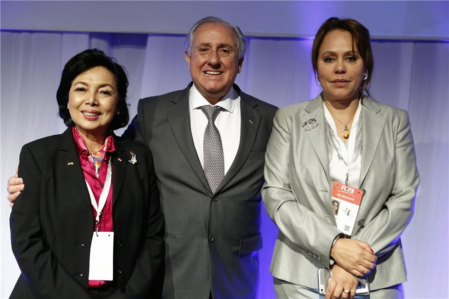 Historic moment for volleyball as first female continental confederation leaders appointed in Africa and Asia