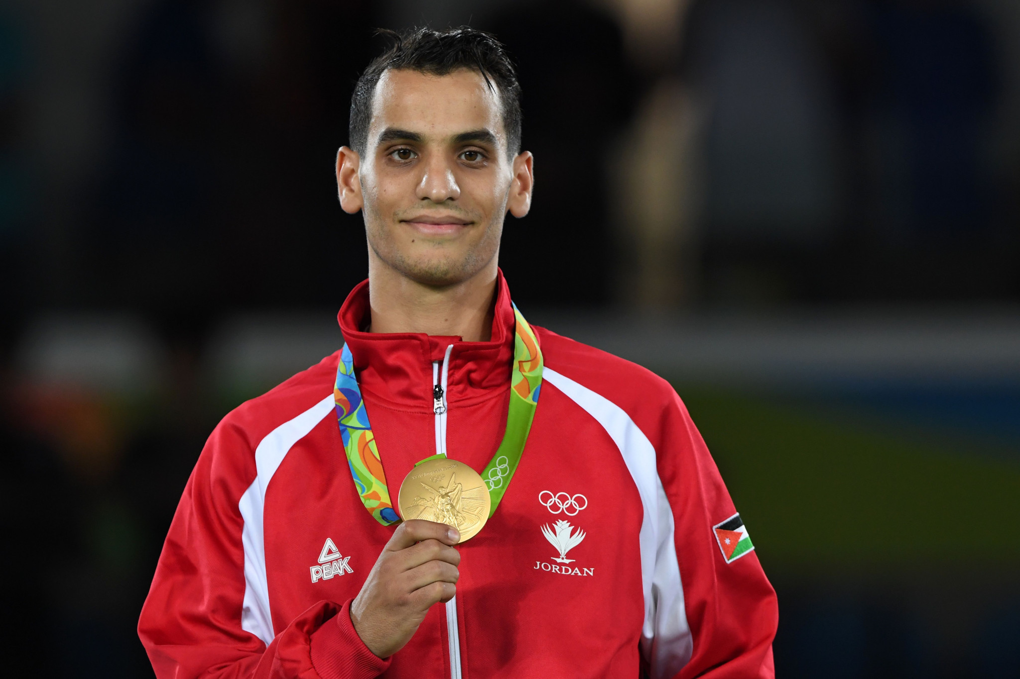 Ahmad Abughaush won Jordan's first-ever Olympic medal at Rio 2016 ©Getty Images