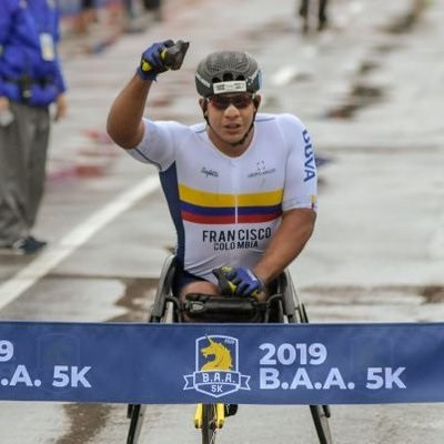 Francisco Sanclemente was found to have violated anti-doping rules at the 2019 Berlin Marathon ©Twitter