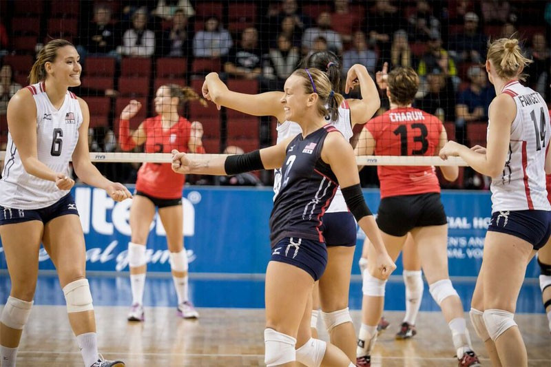 Hosts United States off to a flyer at women's Olympic Volleyball Qualification Tournament