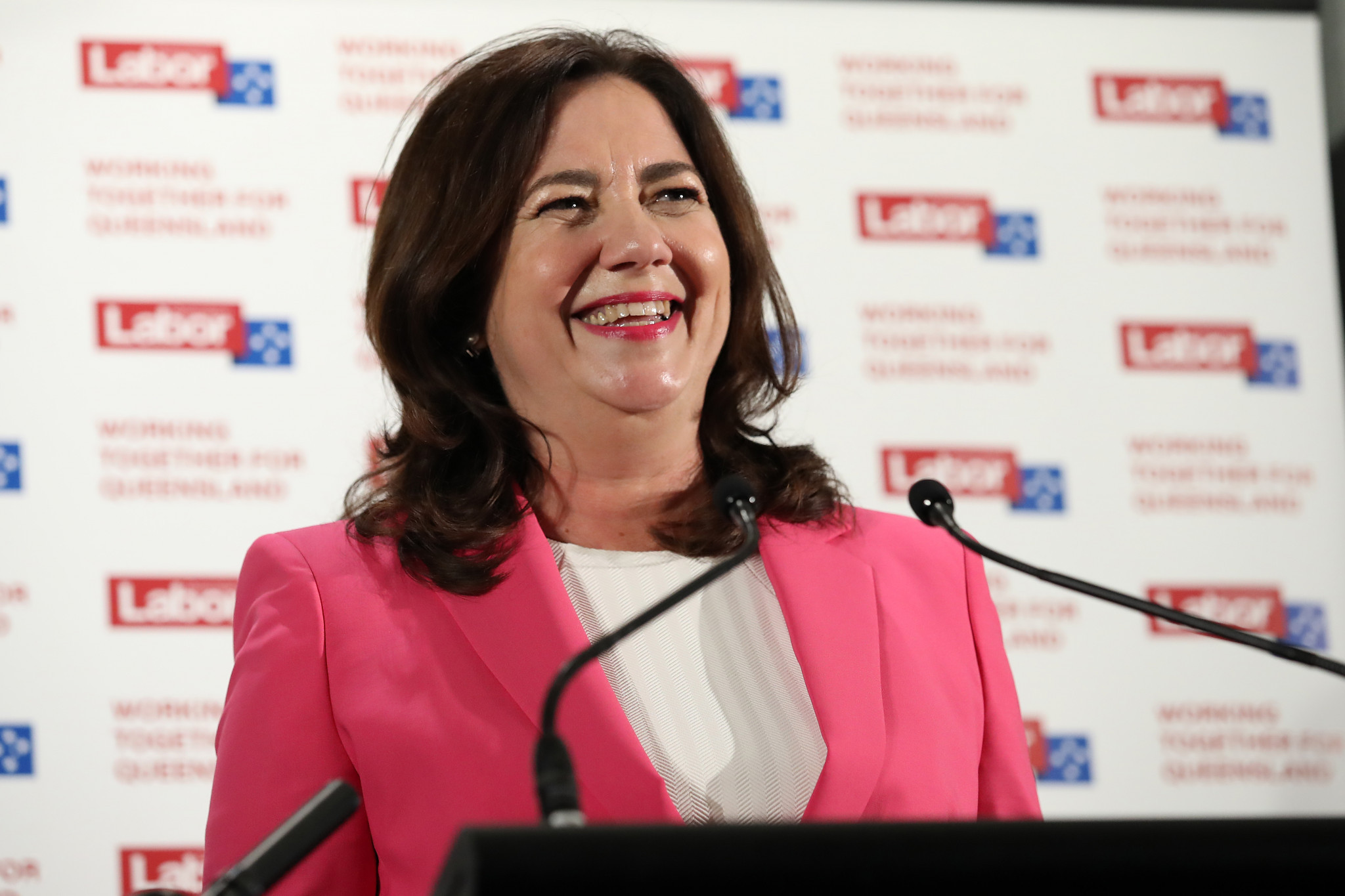 Queensland Premier Palaszczuk secures third term in boost to Olympic bid