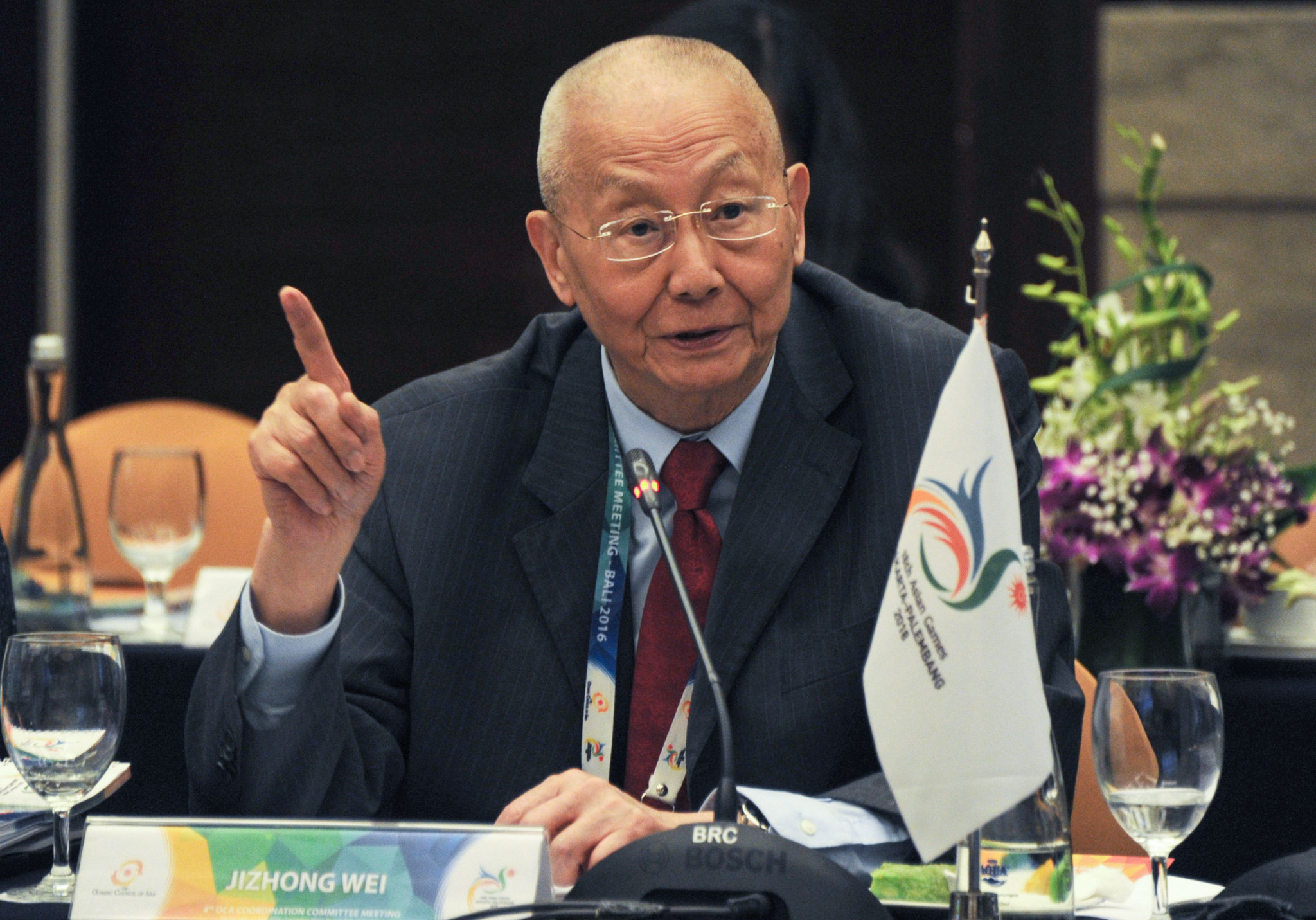 Quanhai Li is believed to be only the second Chinese official to take charge of a summer Olympic International Sports Federation after former FIVB President Wei Jizhong ©Getty Images