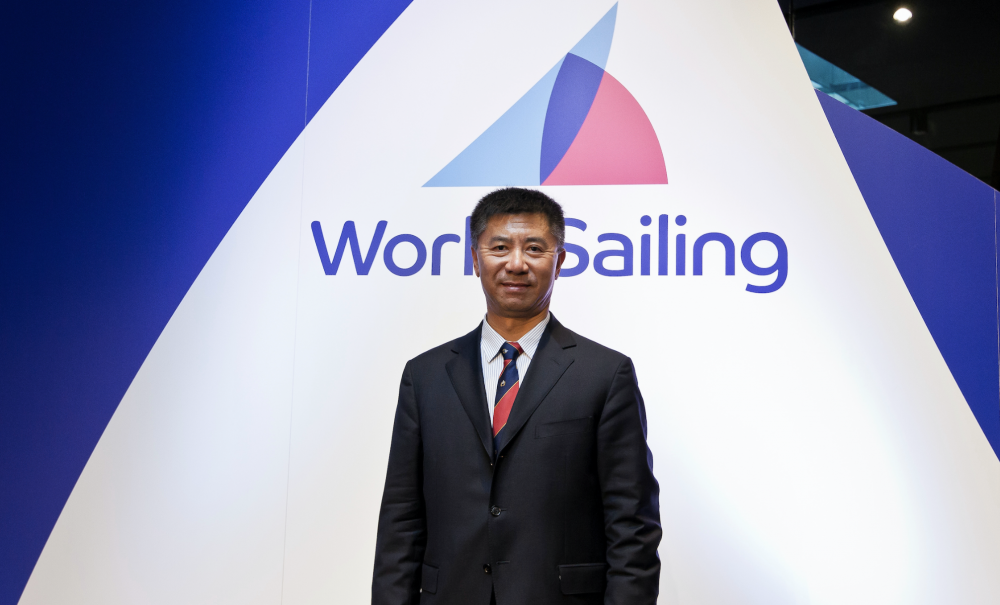 Quanhai Li defeated incumbent Kim Andersen in a run-off to be elected the new President of World Sailing ©World Sailing