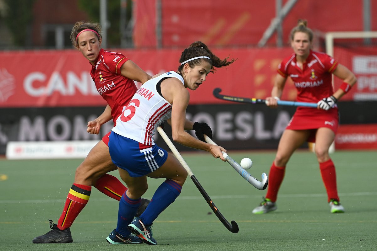 Britain beat Belgium in normal time in Brussels ©FIH