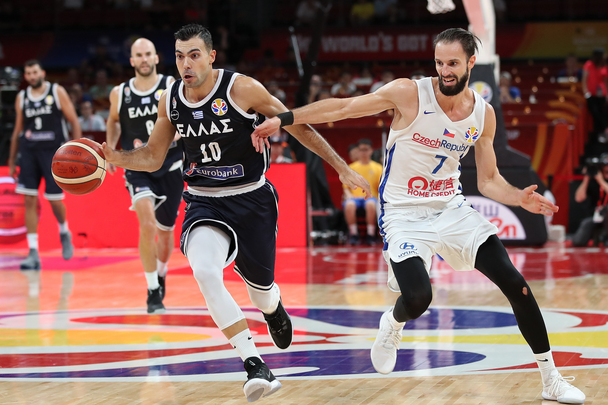 Η Ελλάδα δεν προκρίθηκε στους Ολυμπιακούς από το Πεκίνο 2008, όταν τερμάτισε πέμπτη. © Getty Images