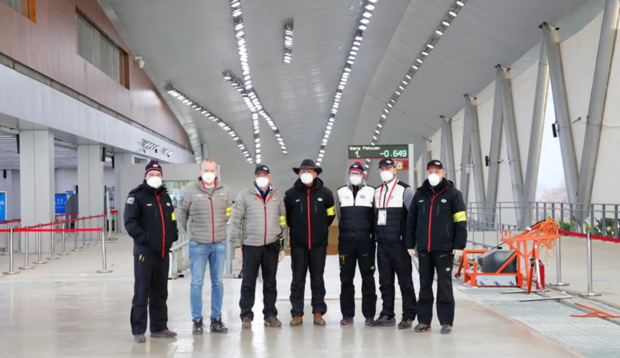 IBSF and FIL full of praise for Beijing 2022 sliding track after pre-homologation tests