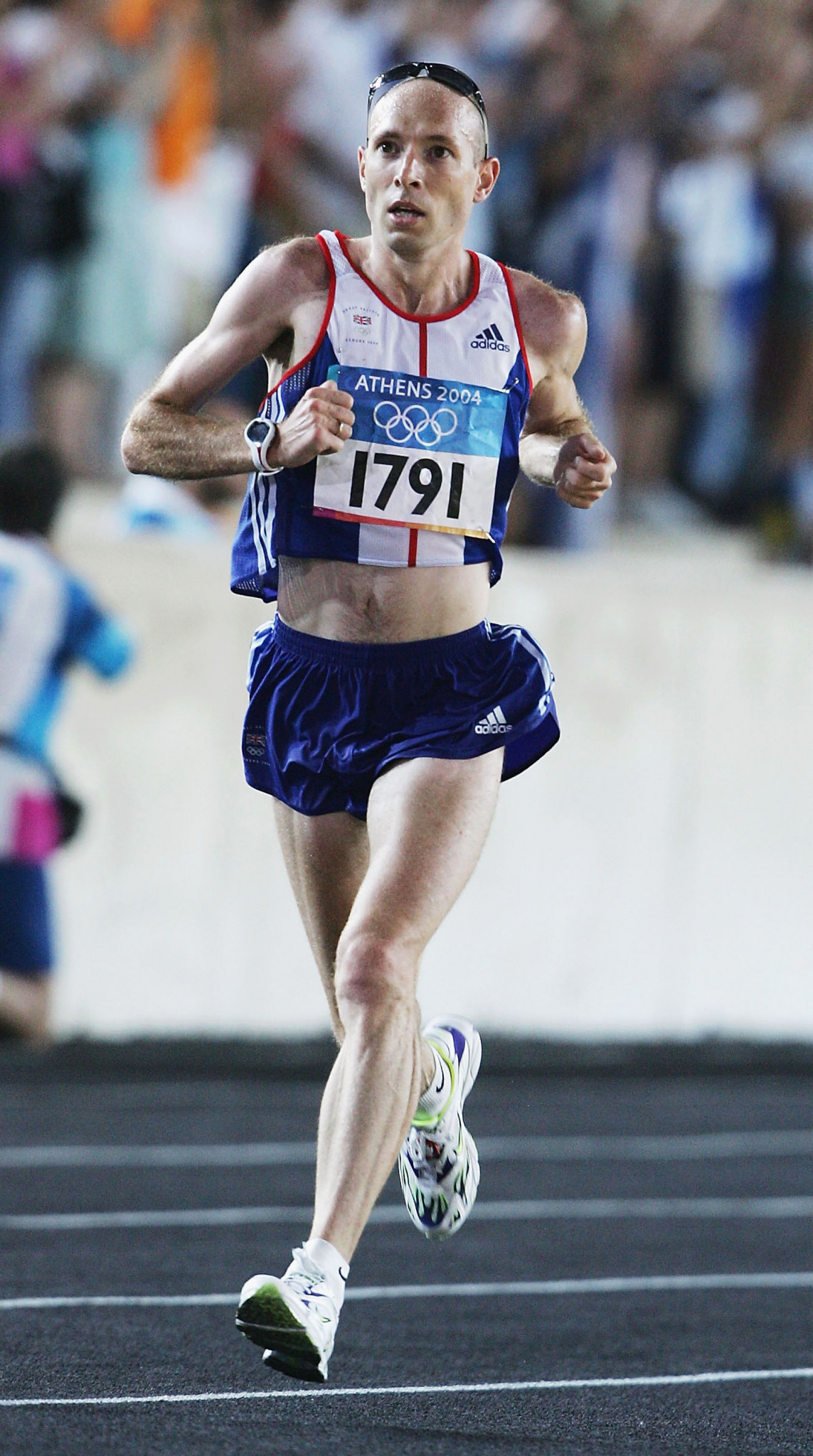 Britain's three-times Olympian marathon runner Jon Brown, pictured above during Athens 2004, has criticised Christian Coleman's attitude to whereabouts testing ©Getty Images