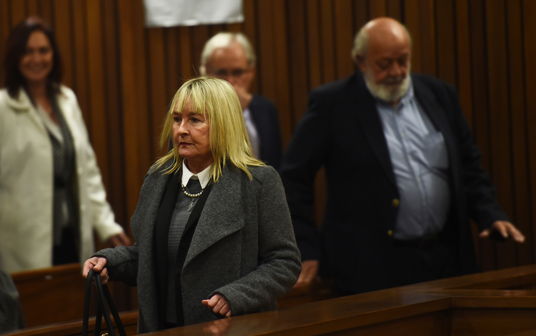 "June Steenkamp said she ""shook with anger"" at the BBC trailer for a documentary on Oscar Pistorius ©Getty Images"