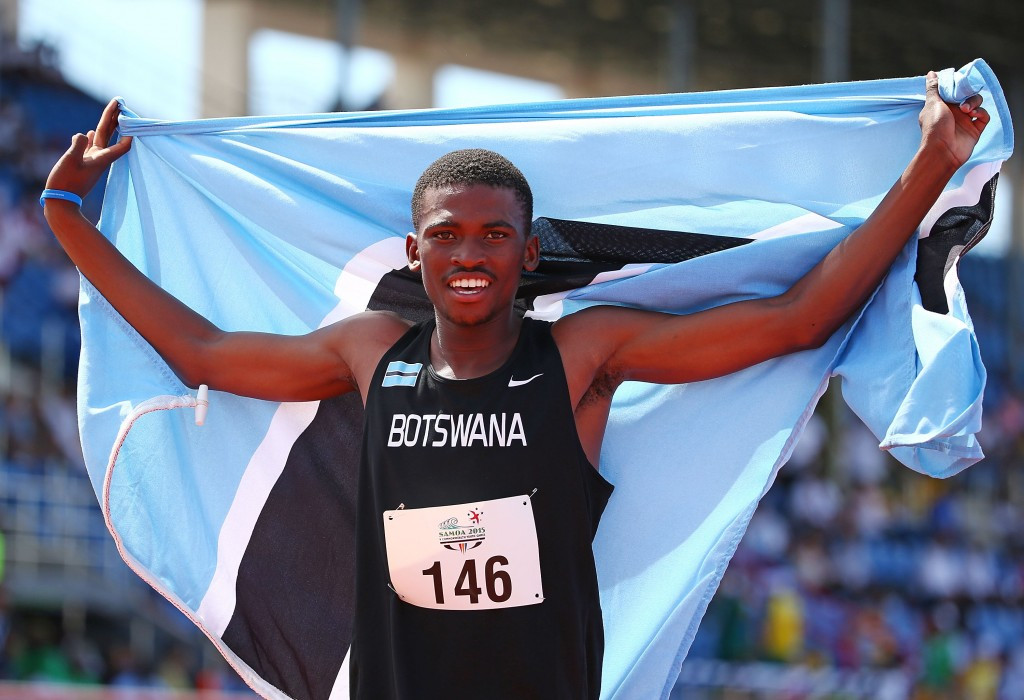 Karabo Sibanda is among the 20 athletes Botswana expects to send to the Rio 2016 Olympic Games ©Getty Images