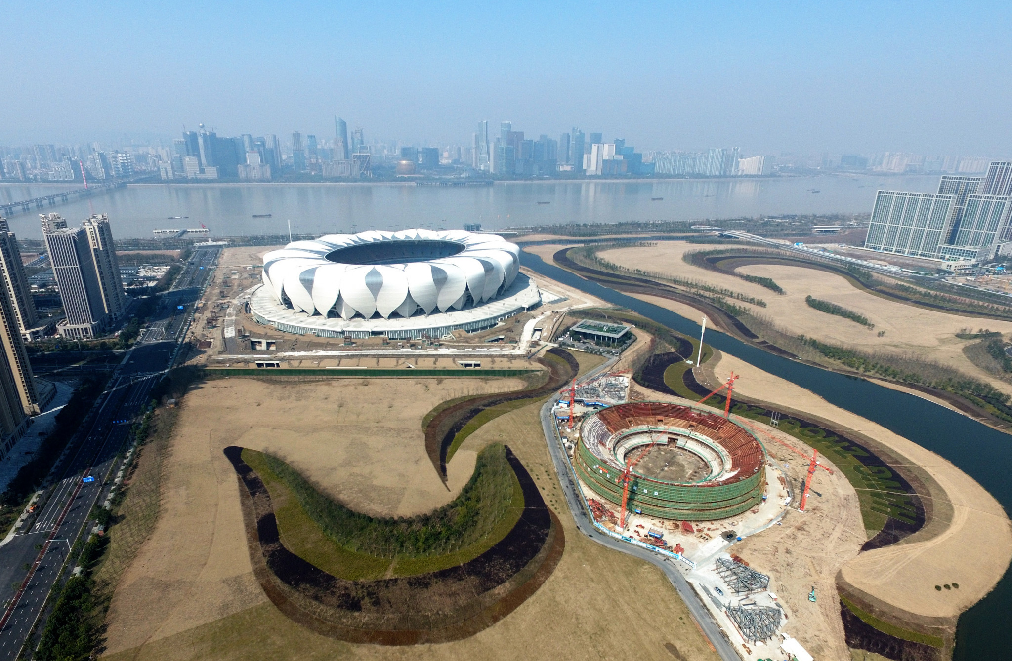 Hangzhou 2022 stadium to serve as finish line for city's marathon
