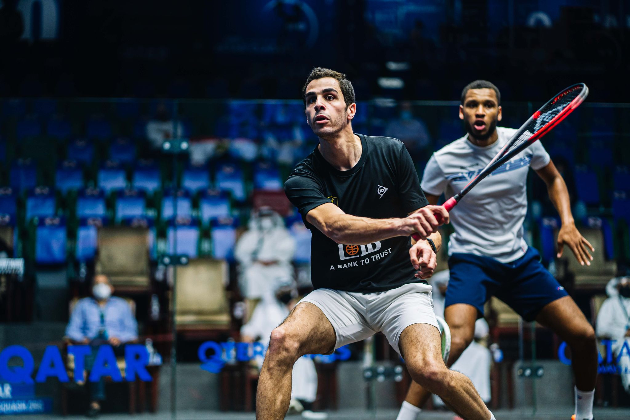 Farag, Momen and Willstrop all into PSA Qatar Classic round three