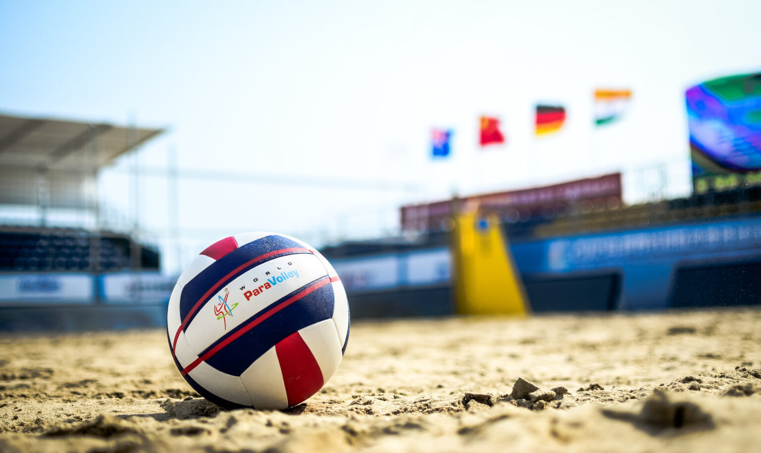 World ParaVolley offering free beach volleyballs to members