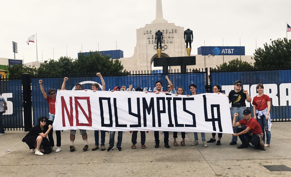 "NOlympics claim Los Angeles 2028 will ""exacerbate the crisis"" in the US"