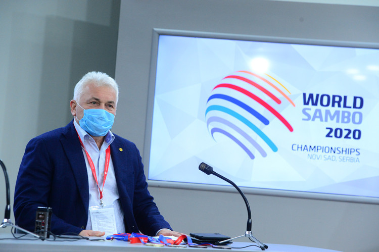 """Sergei Eliseev said putting on the World Sambo Championships was """"an important step for the development of the entire sambo world"""" ©FIAS"""