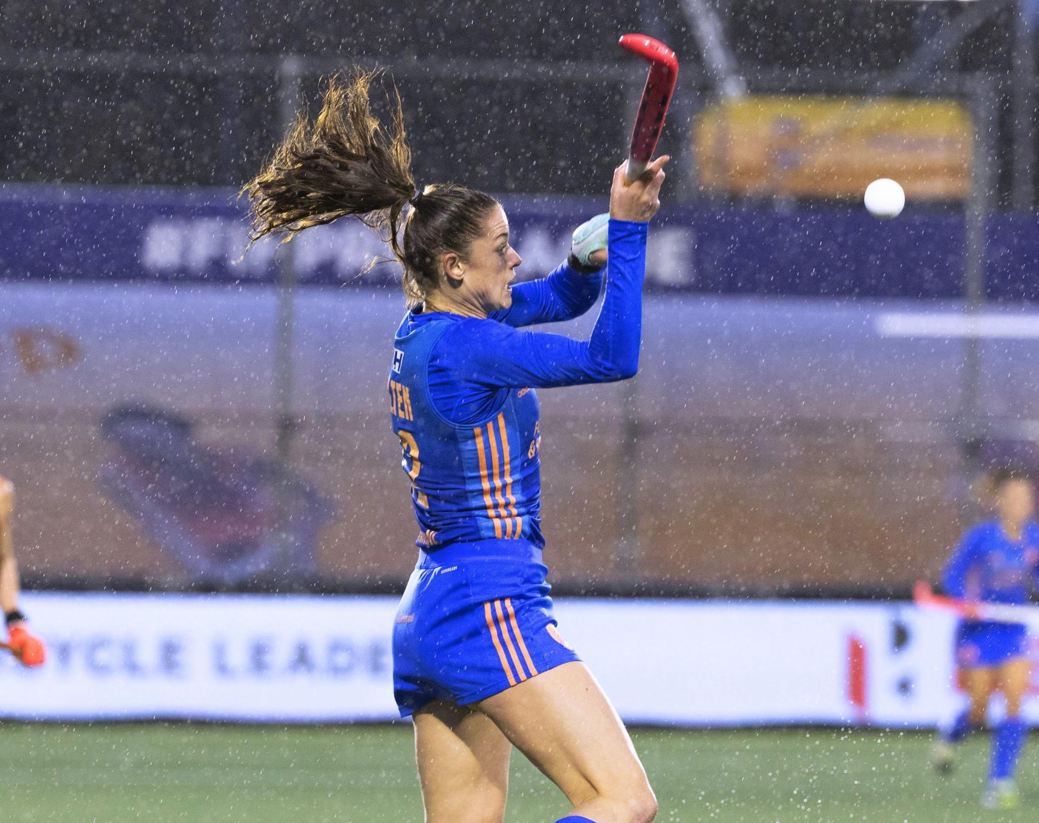 Lidewij Welten opened the scoring in the women's match ©Getty Images