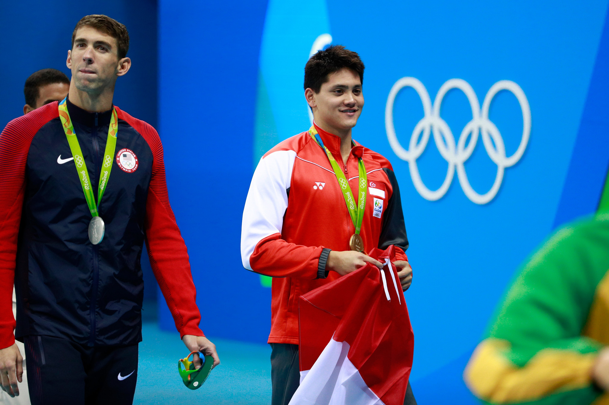 Joseph Schooling stunned Michael Phelps to win gold at Rio 2016 and become a national hero in Singapore ©Getty Images