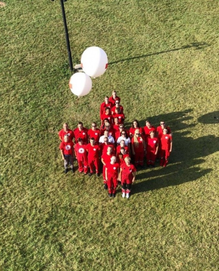 Latvian Olympic Social Fund joins forces with Red Cross