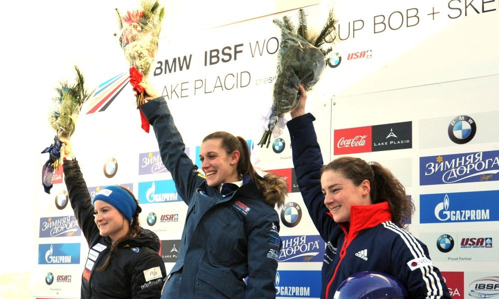 America's O'Shea claims first-ever IBSF World Cup win in front of home crowd