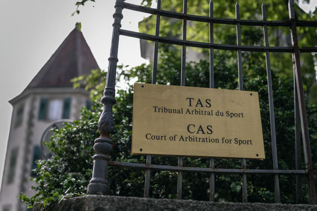 The CAS has been hearing the Russian appeal this week ©Getty Images