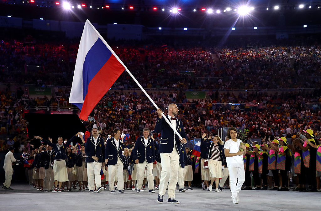 Russia's flag will be banned from Tokyo 2020 and Beijing 2022 if the CAS rules in WADA's favour ©Getty Images