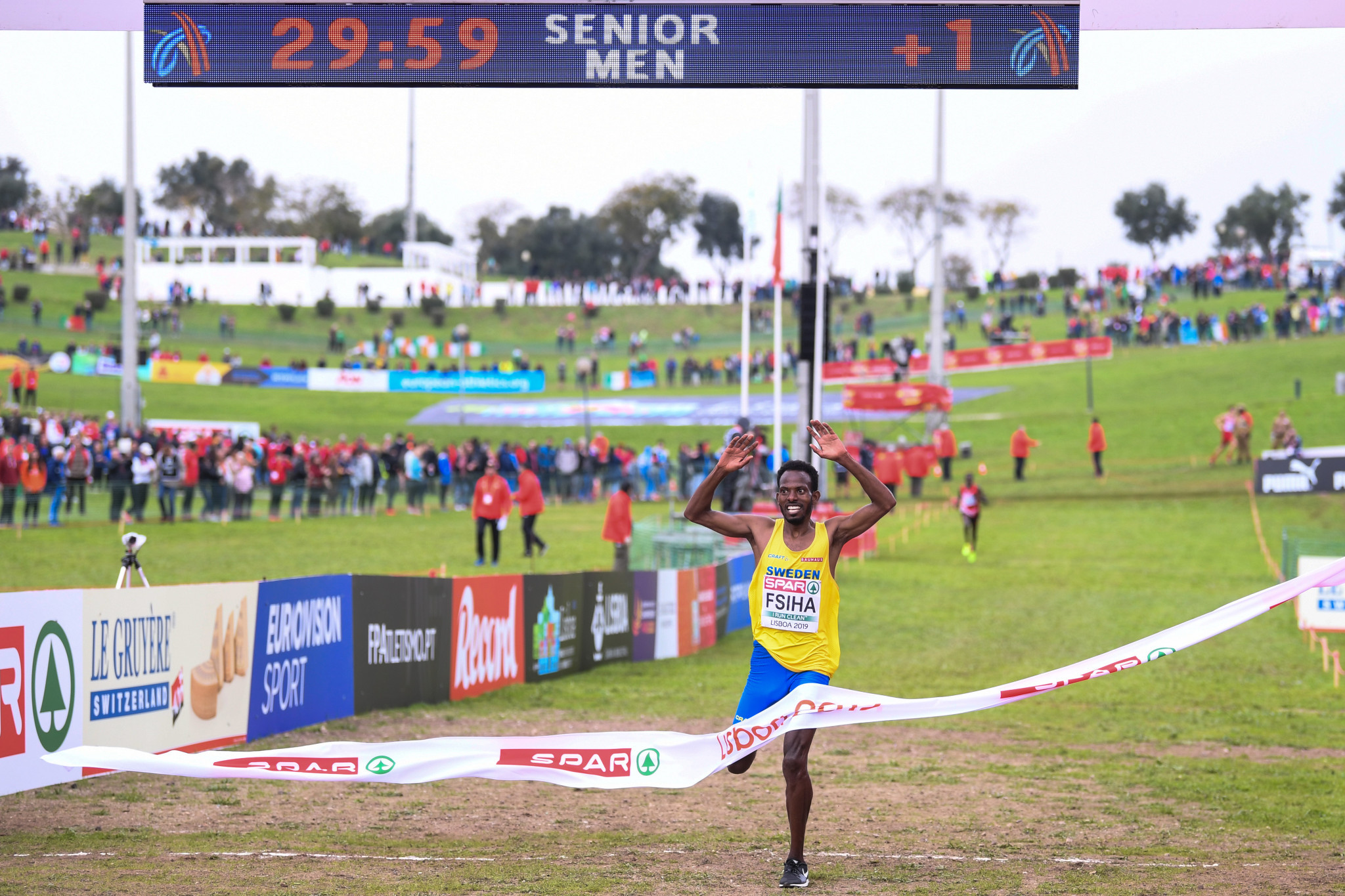 Fsiha to lose European cross country title after AIU confirms four-year doping ban